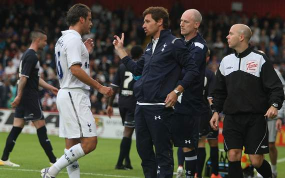 Andre Villas Boas & David Bentley