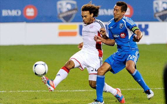 Kevin Alston, New England Revolution; Davy Arnaud, Montreal Impact; MLS