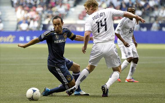 Barry Robson, Vancouver Whitecaps; Landon Donovan, LA Galaxy; MLS