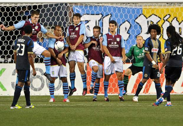 Union show plenty of quality in loss to Aston Villa