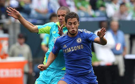 Hazard warning: New Chelsea wing wizard off to a flyer