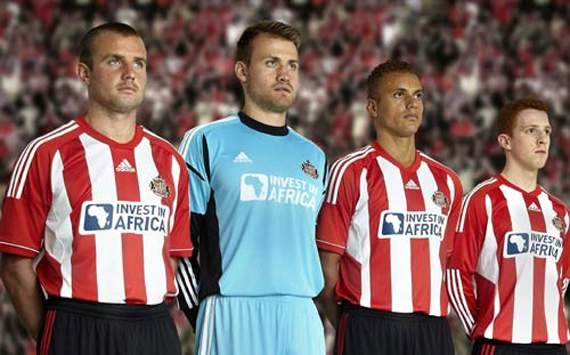 Sunderland: Home Jersey 2012-2013