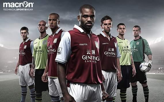 Aston Villa : Home Jersey