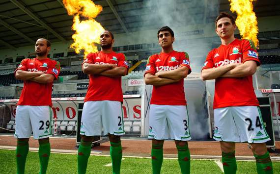Swansea City: Away Jersey 2012-2013