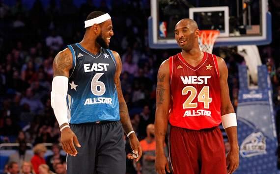 Kobe and Lebron-NBA