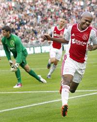 Thulani Serero scoort (Ajax - Celtic)
