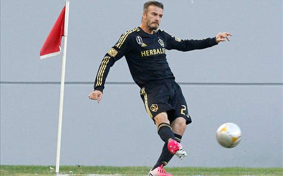 David Beckham, LA Galaxy, MLS