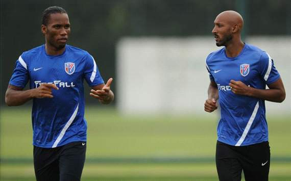 Drogba & Anelka could leave Shanghai Shenhua following shareholder dispute