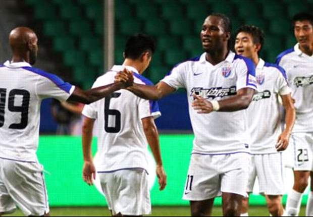 Shanghai Shenhua boss Batista: Drogba showed his uniqueness after fine debut
