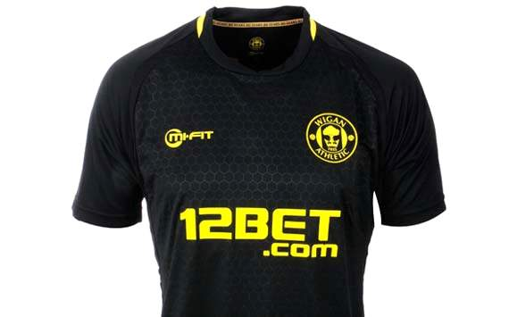 Wigan Athletic: Away Jersey 2012-2013