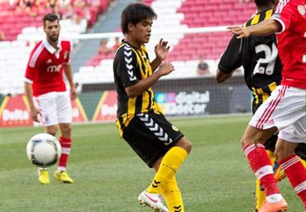Nazmi Faiz to start career with Beira-Mar's under-19 team
