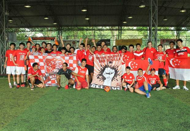 Singapore fan group Lions All the Way to go bald for charity