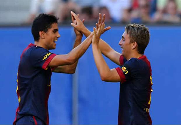 I have never seen a player as ambitious as Messi, says Marc Bartra