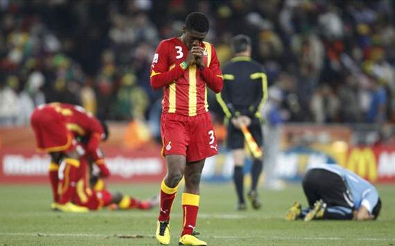 Gyan: I'll get back amongst the goals at Cup of Nations