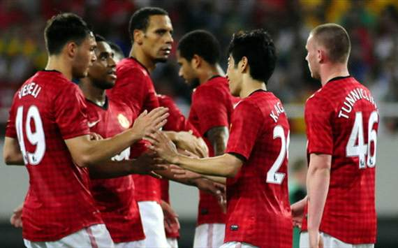 Friendly:  Manchester United - Shanghai Shenhua