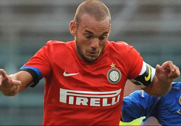 Sneijder selected in Inter squad to face Celtic