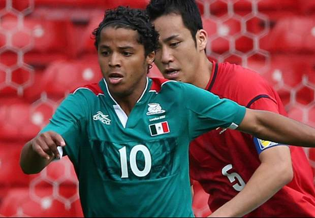 Giovani dos Santos will miss Olympic final vs. Brazil
