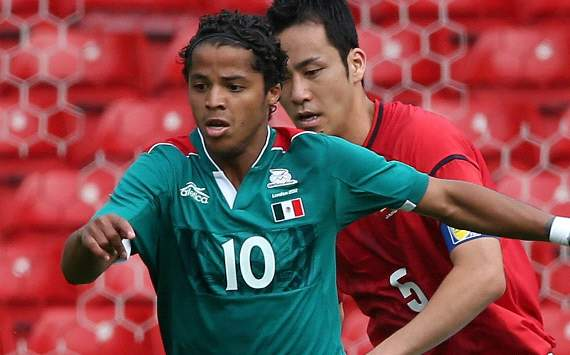 Mexico attacker Dos Santos may miss Olympic final with muscle injury