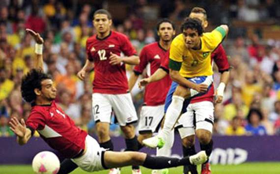 Brazil under 23 Vs Egypt under 23 in London 2012