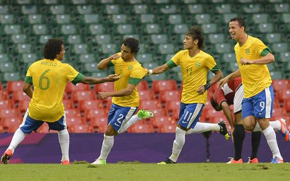 Olympics Men's Football - Brazil vs Egypt ,Rafael