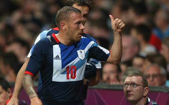 Olympics Men's Football - Great Britain vs Senegal,Craig Bellamy