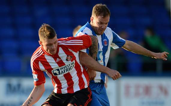 Pre Season Friendly - Hartlepool v Sunderland, Connor Wickham and Sam Collins
