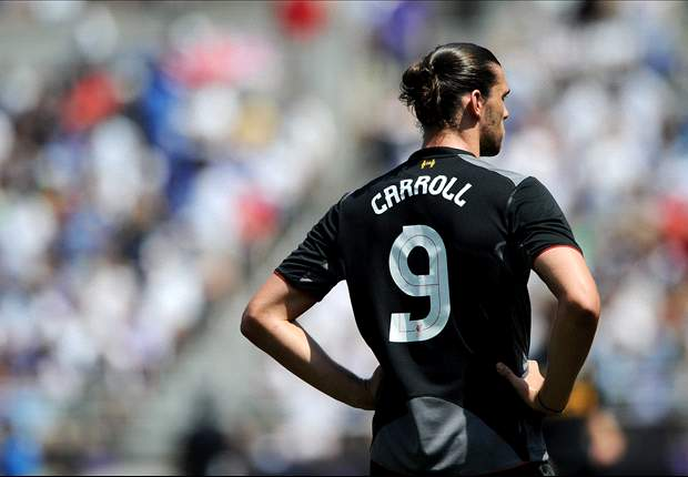 Carroll out of Liverpool's Europa League squad for Gomel match