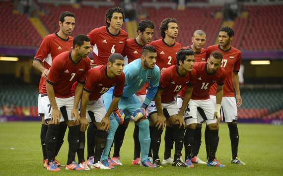The Egypt team