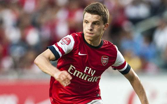 Arsenal youngster Eisfeld enjoying life in London