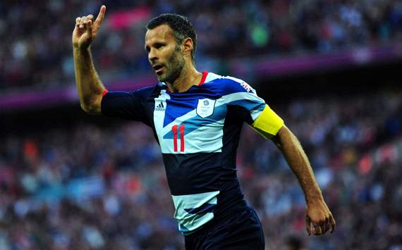 TEAM NEWS: Giggs on the bench again for Team GB against South Korea