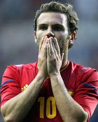 Juan Mata, Spain, Honduras