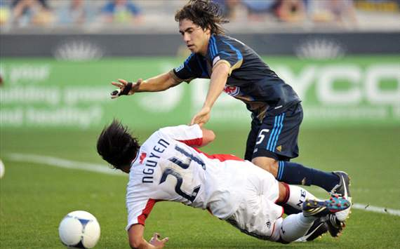 Lee Nguyen; Gabriel Farfan, New England Revolution, Philadelphia Union, MLS