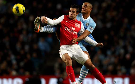 Kompany: United hit the jackpot with Van Persie