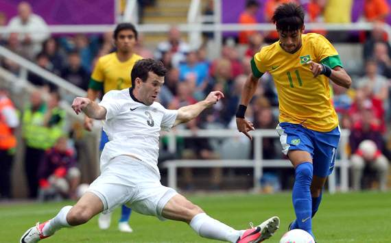 Olympics:   Ian Hogg- Neymar, Brazil v New Zealand