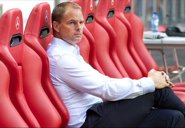 Frank de Boer: Ajax have to win against Real Madrid