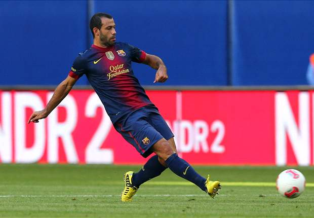 Mascherano: Vilanova must carry the pressure