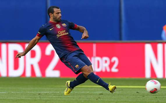 Mascherano: Playing at centre-back for Barcelona is a risk
