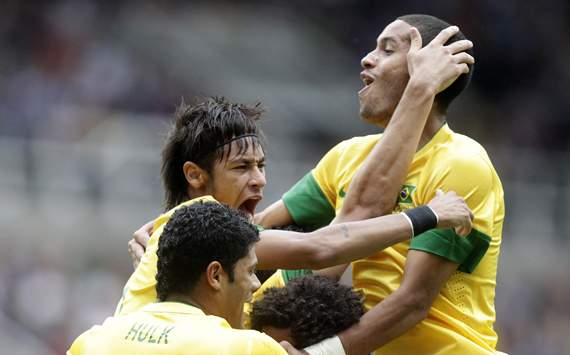 Neymar targets historic Olympic gold