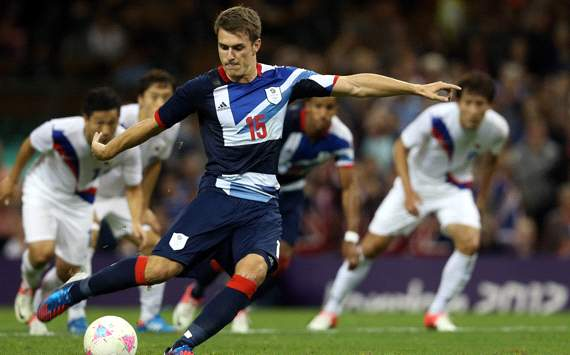 Olympics QF:   Aaron Ramsey,  Great Britain and S. Korea