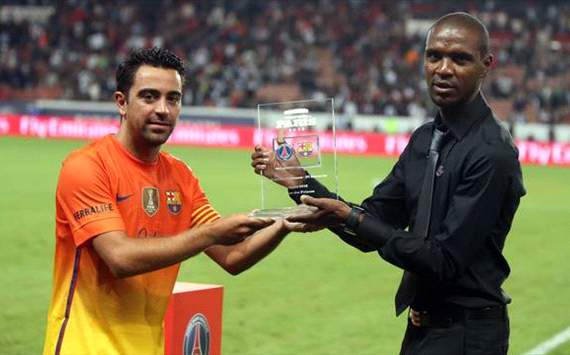 'Abidal could return in November'  Xavi