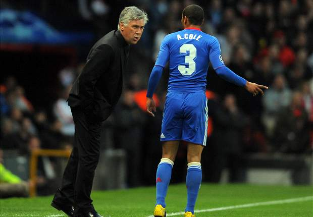 PSG boss Ancelotti: Ashley Cole is world's best left-back