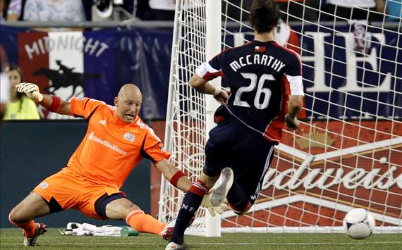 Stephen McCarthy, Matt Reis: New england Revolution