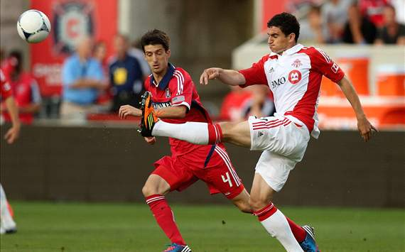 Logan Emory, Alvaro Fernandez; Toronto FC - Chicago Fire