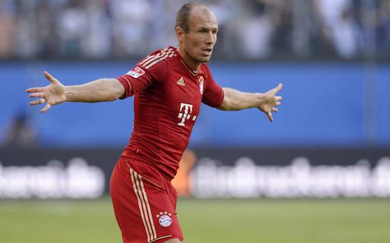Robben unlikely to feature against Mainz
