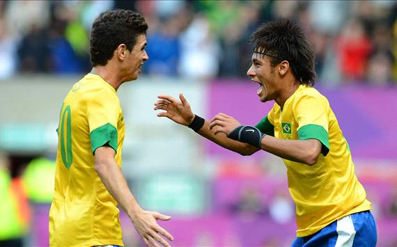 TEAM NEWS: Neymar, Oscar and Damiao all start for Brazil in Olympic final clash