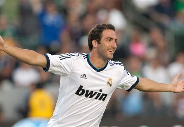 Higuain targets more playing time at Real Madrid