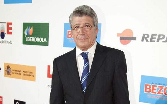 Enrique Cerezo, presidente del Atltico de Madrid: No pienso dejarlo
