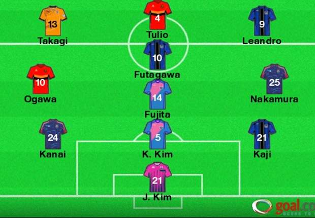J-League Team of the Week Round 20: Prolific Tulio, Gamba triplet feature