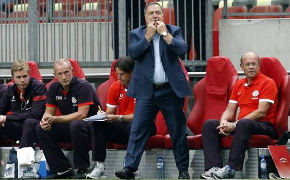 Advocaat delighted with PSV's Johan Cruyff Schaal win over Ajax