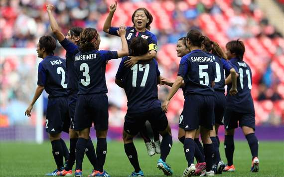 Olympics Semi Final: Japan women v France women,Aya Miyama